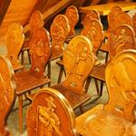 Answer carved,chairs